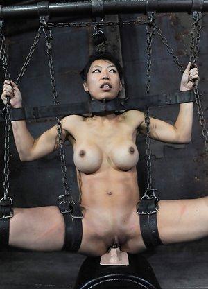 Asian Sybian Orgasm