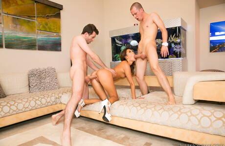 Asian Threesome Porn