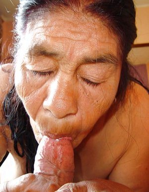 Naked Asian Grandma