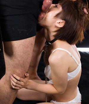 Asian Ball Sucking